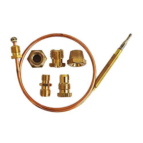 MMingx Kit De Reemplazo De Chimenea De Estufa De Gas De 36 Pulgadas con Adaptadores De 5 Piezas para Calderas De Gas (Size : 36 Inch)
