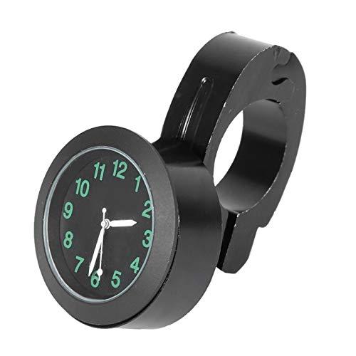 Qqmora Reloj Esfera Reloj Antigolpes Anticaída Anticaída Reloj para Triciclo(Black)