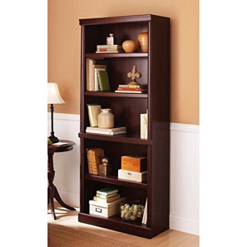 Sauder 410890 Ashwood Road Bookcase, Select Cherry Finish