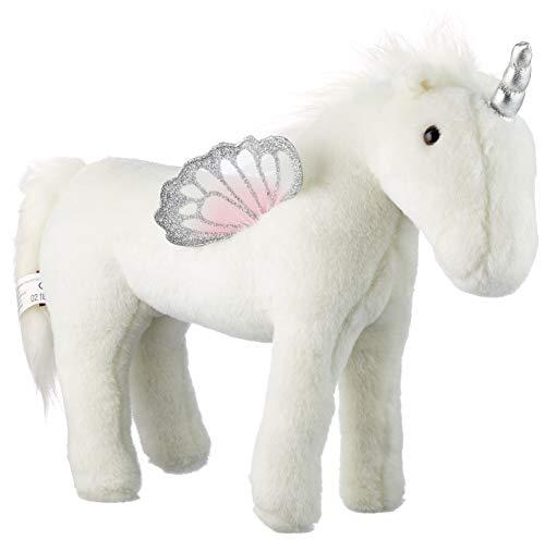 Götz 3402897 Pegasus Opal Einhorn-Puppe - biegsames Plüschpferd für Stehpuppen - für Kinder ab 3 Jahren