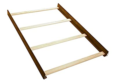 Full Size Conversion Kit Bed Rails for Bertini Baby Cribs (Antique Natural)