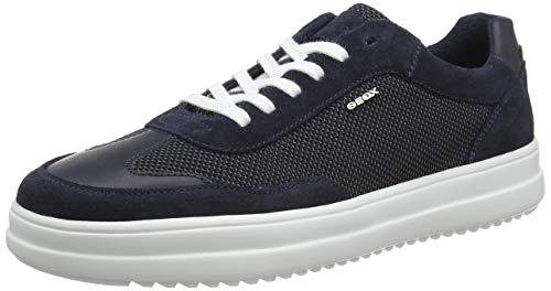 Geox U TAYRVIN A, Zapatillas Hombre, Azul (Navy C4002), 45 EU
