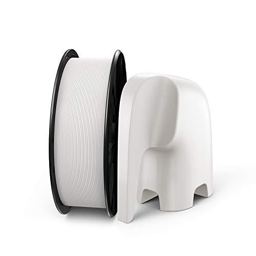 PLA Filament, LABISTS 3D Drucker Filament,1,75mm PLA Filament für 3D Printer, 1kg Spule Weiß