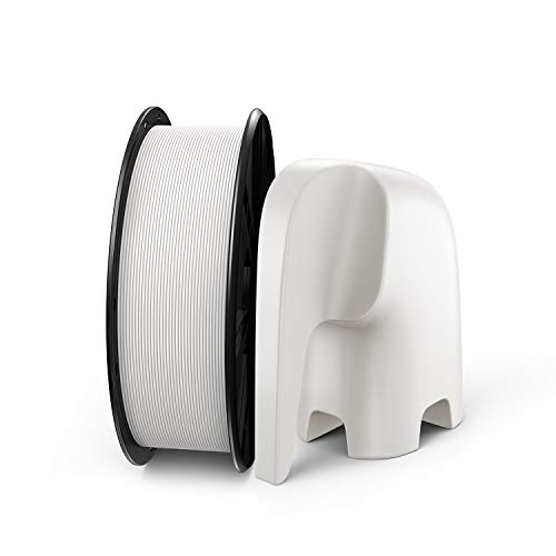 3D Printer Filament, LABISTS PLA Filament 1.75mm 1KG White, 3D Printing Material for 3D Printer and 3D Pen, I KG 1 Spool (2.2 LBS), Dimensional Tolerance +/- 0.02mm