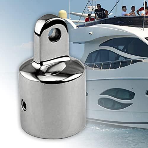 topxingch Top Caps Externo Eye End Boat Fittings Acero Inoxidable Marina Hardware Tapas Deslizantes Yate Toldo Accesorios 22mm