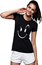 Workshop Graphic Printed T-Shirt for Women | Funny Quote Wink Cool tee| English Slogan Stylish T Shirt | Round Neck Tees |...