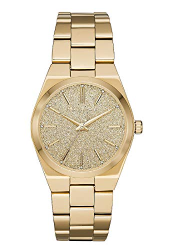 Michael Kors Damen Analog Quarz Uhr mit Edelstahl Armband MK6623