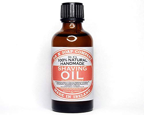 Dr K Shaving Oil Pepperment, 100 ml