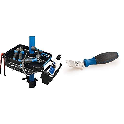 ParkTool Werkzeugablage, One Size, 4001145 & Werkzeug PP-1.2 Bremskolben-Spreizer, One Size, 4001664