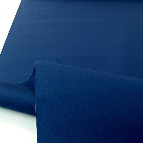 TOLKO Sonnenschutz Markisen-Stoffe als Meterware Zum Nähen mit UV-Schutz 50+ | Wasserdicht, Extra Langlebig - Ohne Ausbleichen (Marine Blau)