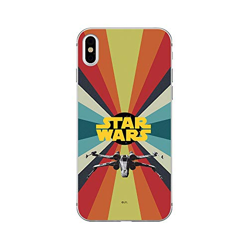 ERT GroupSWPCSW15343 Cubierta del Teléfono Móvil, Star Wars 039 iPhone XS MAX