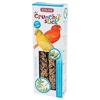 Zolux Crunchy Stick Friandise pour Canari Alpiste/Aigremoine 85 g