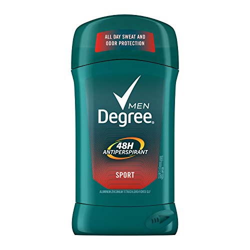 Degree M-BB-1198 Sport & Invisible Antitranspirant Deodorant Stick - 2,7 oz - Deodorant