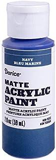 Darice DPCS183-63 Matte Navy, 2 Ounces Acrylic Paint