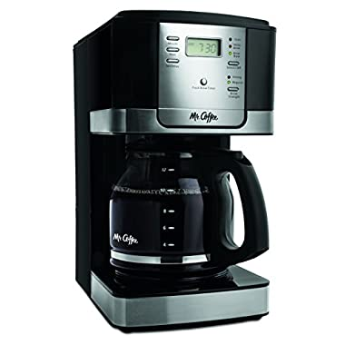 Mr. Coffee JWX27-NPA 12-Cup Progammable Coffeemaker, Black
