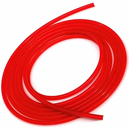 High Performance Silicone Vacuum Hose 3.5mm - Red 5 feet .1375 ID