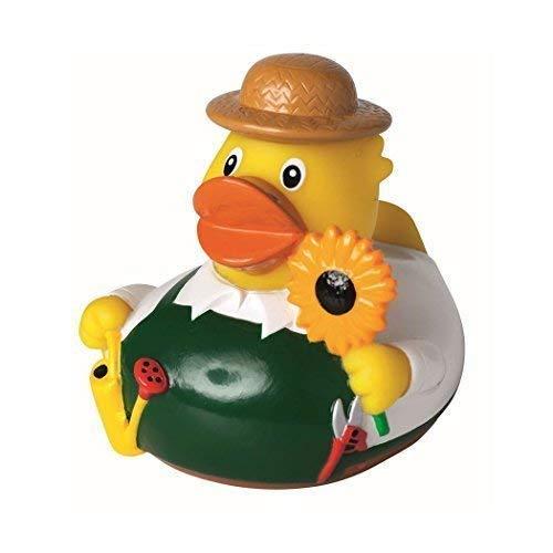 Mein Zwergenland Quietsche-Ente Quietscheente Badeente Bath Duck Gärtner