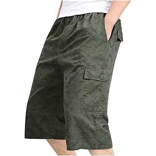 Nuevo 2021 Pantalones Cortos Hombre Verano Casual Moda trabajo Corta Pantalones Pants shorts Deporte Jogging Pantalon Fitness Chandal Hombre Talla grande Ropa de hombre playa Pantalones de Trekking