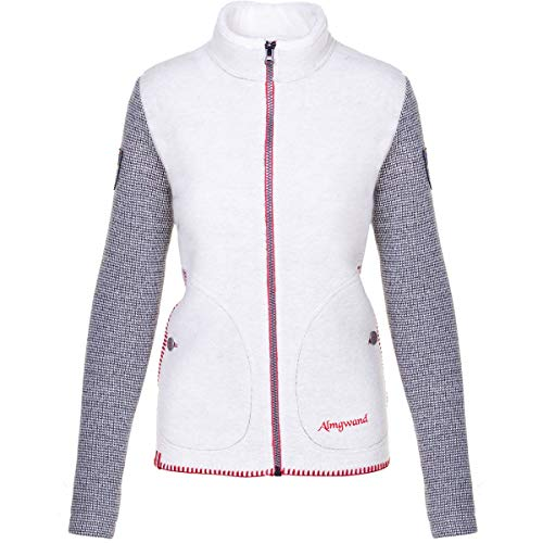 Almgwand Damen Gerenspitze Jacke, beige-grau, EU 36