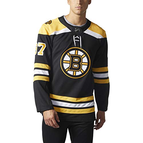 adidas Patrice Bergeron Boston Bruins NHL Men's Authentic Black Hockey Jersey