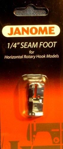 "Janome 1/4"" Seam Foot Horizontal Rotary Hook Models"