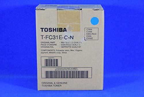 Toshiba 6AG00002003 Cartucho de tóner Original Cian 1 Pieza(s) - Tóner para impresoras láser (10000 páginas, Cian, 1 Pieza(s))