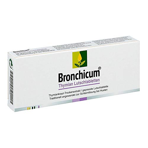 BRONCHICUM Thymian Lutschtabletten, 100 g