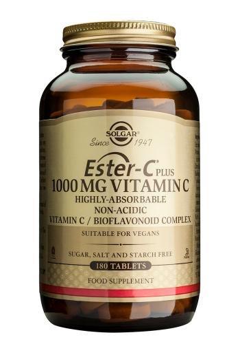 Solgar 1000 mg Ester-C Plus Vitamina C - 180 tabletas