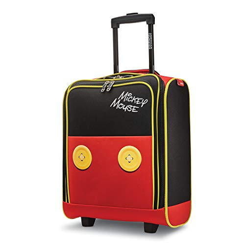 American Tourister Disney Softside Luggage with Spinner Wheels, Mickey Mouse Pants, Underseater