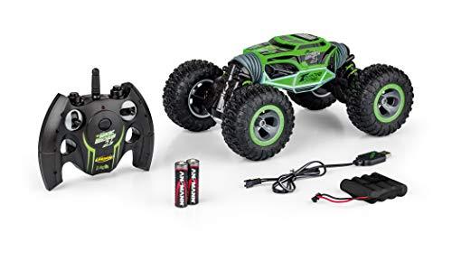 Carson 500404202 - 1:10 My First Magic Machine Grün 2.4G 100%RTR, Ferngesteuertes Auto/ Fahrzeug, RC-Fahrzeug, inkl. Batterien und Fernsteuerung