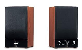 """Altoparlanti a 2 vie con potenza totale di 40 W / RMS Bassi potenti e alti cristallini Tweeter di qualità per un suono potente. Volume generale, manopola degli alti e bassi Ingresso """"jack"""" per il collegamento di iPod, MP3 e altri dispositivi"""