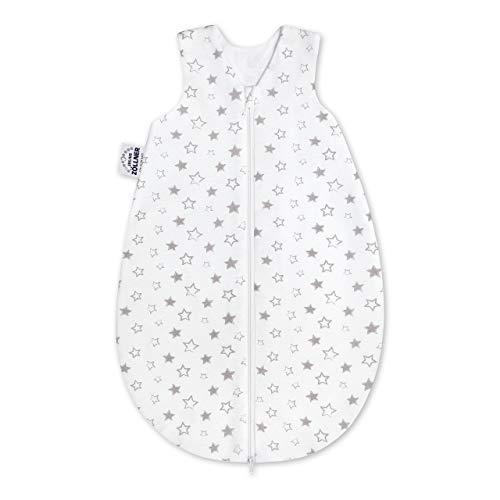 Julius Zöllner Baby Sommerschlafsack aus 100% Jersey Baumwolle, Größe 56, Standard 100 by OEKO-TEX, Stella