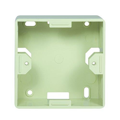2direct GmbH Caja De Montaje De Superficie Logilink, 80X80X40Mm, Blanco Perla