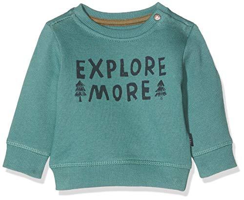 Noppies Baby-Jungen B Sweat ls Allendale Sweatshirt, Grün (Silver Pine P222), (Herstellergröße: 80)