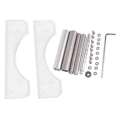 3D-printerfilamenthouder, helder consumables Frame Silk Tray draadframehouder voor PLA-/ABS-filament 3D-printer