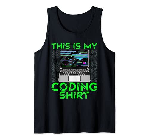 Esta es mi codificación Camisa Coder Pila Completa Desarrollador Web Dev Camiseta sin Mangas