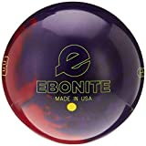 Ebonite Game Breaker 3 Pearl Bowling Ball, Size 15.0, Purple/Red