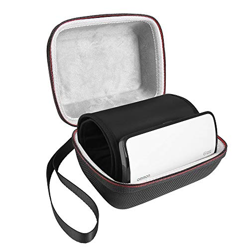 LuckyNV transporte Estuche para Omron Evolv Bluetooth Wireless Monitor de presión arterial del brazo superior - Bolsa de almacenamiento de viaje (solo estuche)