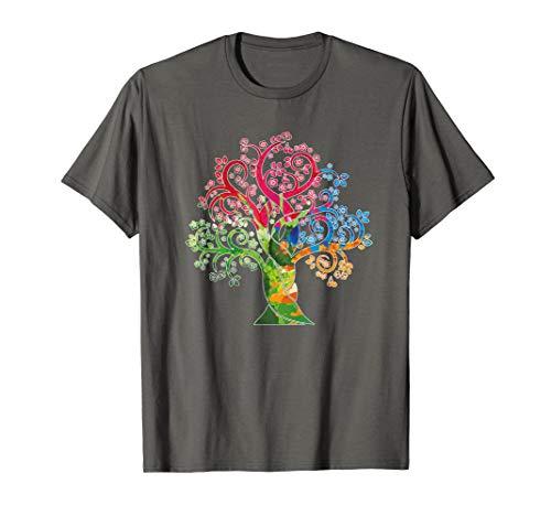 Baum Tshirt - Baum des Lebens Shirt - Tribal Art T-Shirt
