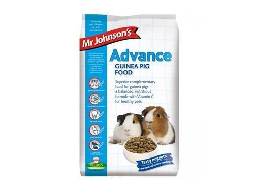 (4 Pack) Mr Johnsons - Everyday Advance Guinea Pig 1.5kg