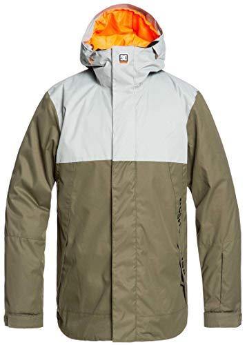 DC Defy Snowboard Jacket Mens Sz XXL Neutral Grey