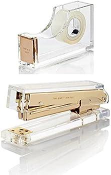 Kate Spade New York Assortment - 1  Tape Dispenser and 1  Stapler