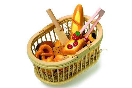 Small Foot 7767 Kinderküchen-Zubehör Schneide Picknickkorb
