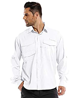 White Sierra Kalgoorlie Long Sleeve Shirt
