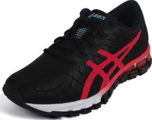 ASICS Women's Gel-Quantum 180 4 Shoes, 6M, Black/Laser Pink