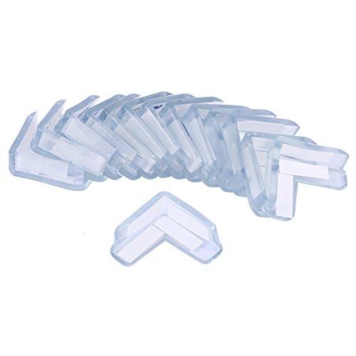 Fdit Lot de 15 protections d angle transparentes pour protéger les coins des meubles et des tables