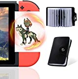 TPLGO 24 pcs NFC Cards with Holer for The TLOZ Breath of The Wild Botw Switch/Switch Lite/Wii U with New Card for Link's Awakening