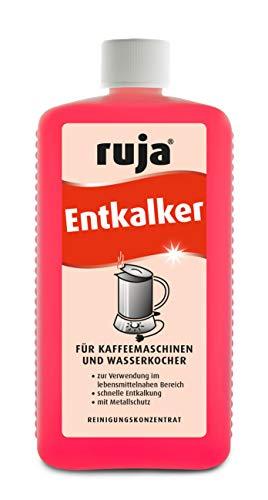 ruja Entkalker 1 Liter | für Kaffeemaschinen, Wasserkocher, Töpfe, Vollautomaten | Konzentrat; sehr sparsam und umweltverträglich