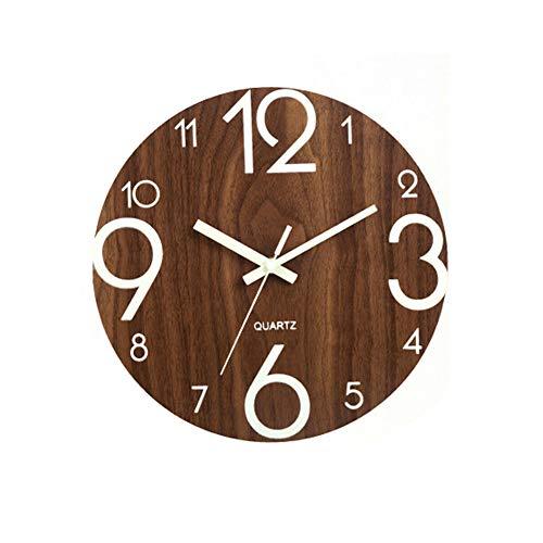 Relojes De Pared Grandes Madera relojes de pared  Marca ORETG45