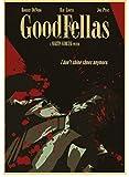 SANLIUJIU Canvas Poster Movie Poster Good Fellas Retro